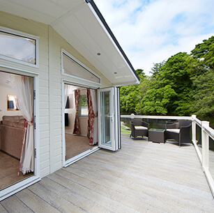 Holiday Home Decking